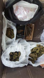 הסמים שנתפסו. צילום: דוברות המשטרה