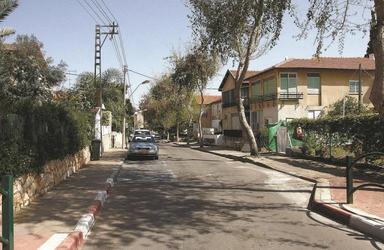 שכונת כיסופים בכפר סבא. צילום: עזרא לוי
