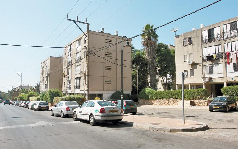 שכונת יד התשעה בהרצליה. צילום עזרא לוי