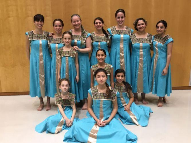 בנות המקהלה שהשתתפו בתחרות. צילום: מקהלת לי-רון
