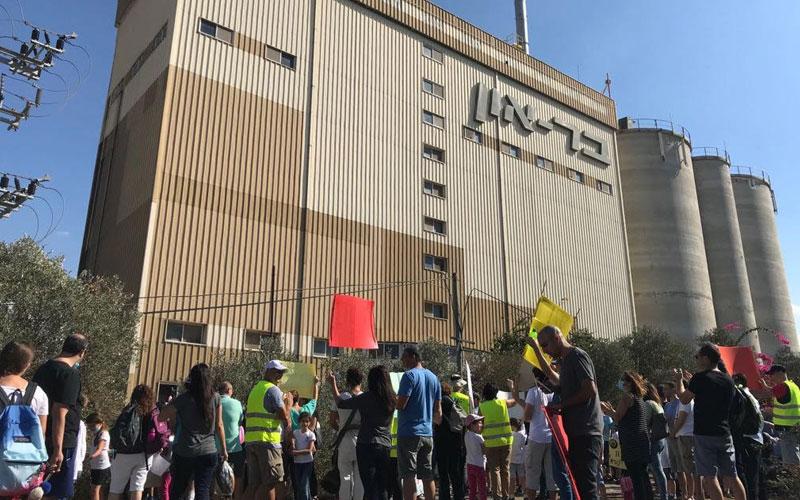 ההפגנה נגד בראון בשכונה הירוקה