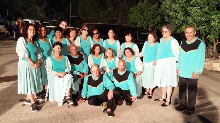 """להקת מעגלי אורה בפסטיבל """"מחול כרמיאל"""". צילום: פרטי"""