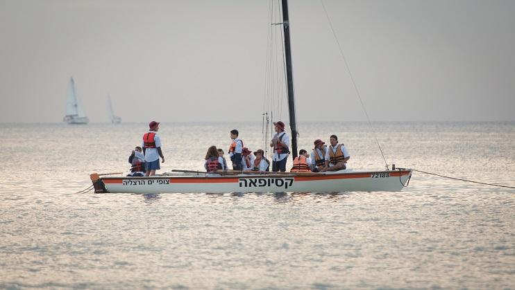 צופי ים הרצליה. צילום: עידו מאירוביץ'