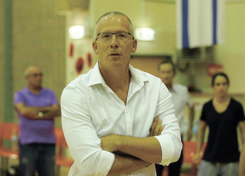 גלעד כץ. צילום אודי ציטיאט, מנהלת ליגת העל בכדורסל נשים