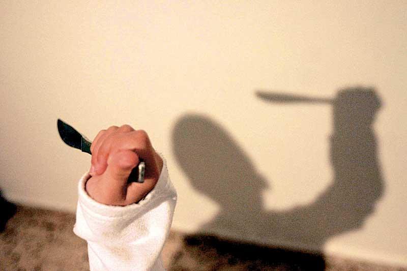 אילוסטרציה של סכין צילום ניר קידר