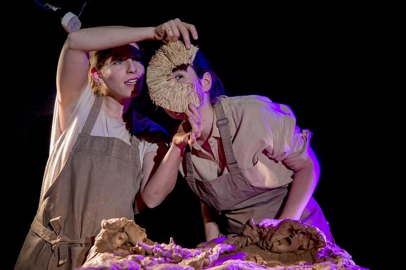 """ההצגה """"מולו וצגאי"""". צילום: חיים יפים ברבלט"""