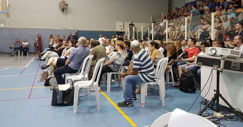 מפגש תושבים בהרצליה. צילום עיריית הרצליה