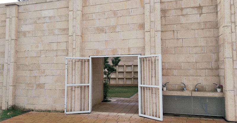 בית העלמין האזרחי. צילום עזרא לוי