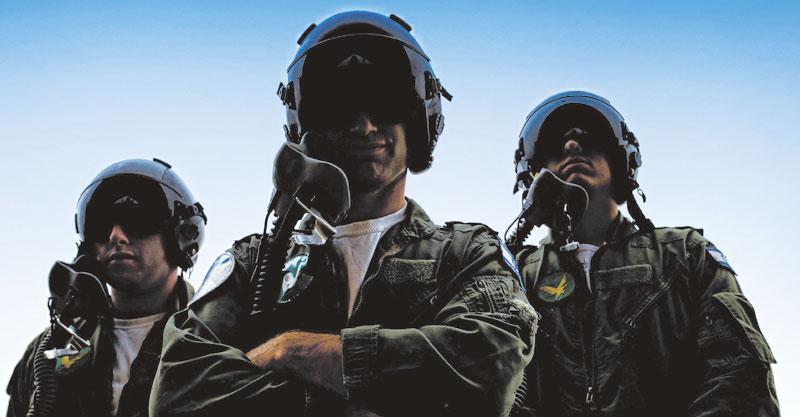 טייסים. צילום יובל טבול