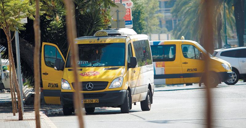 מונית שירות. צילום מוטי מילרוד