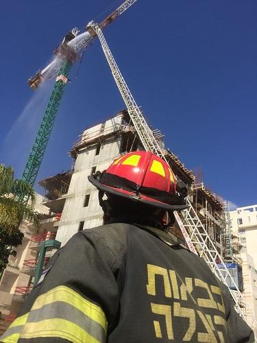 השריפה בעגורן. צילום: איחוד הצלה