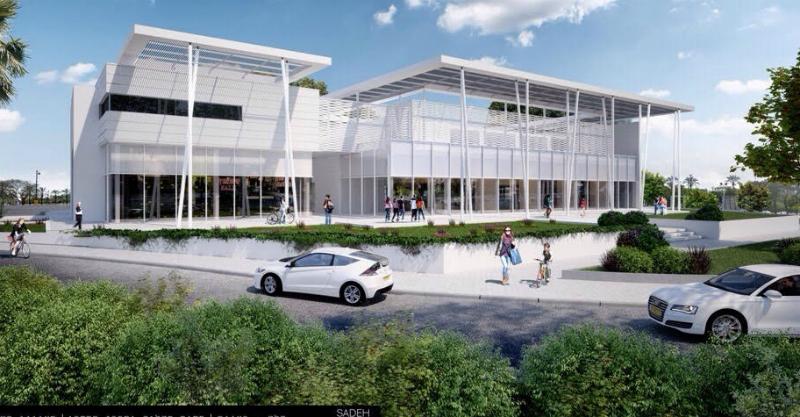 """הדמיית המרכז המסחרי (תמונה להמחשה בלבד) צילום: יח""""צ"""