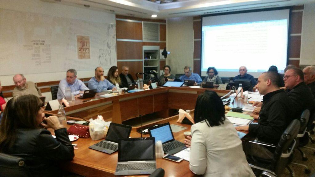 ישיבת המועצה. צילום: אריה אברמזון