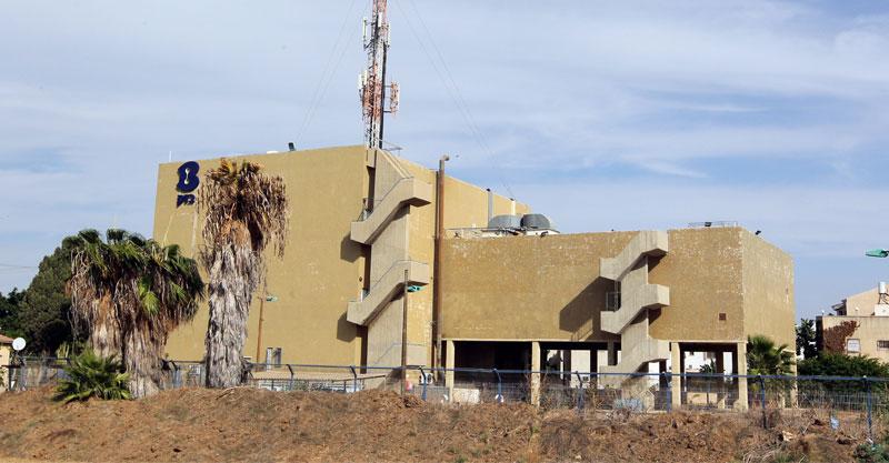 בניין בזק. צילום עזרא לוי