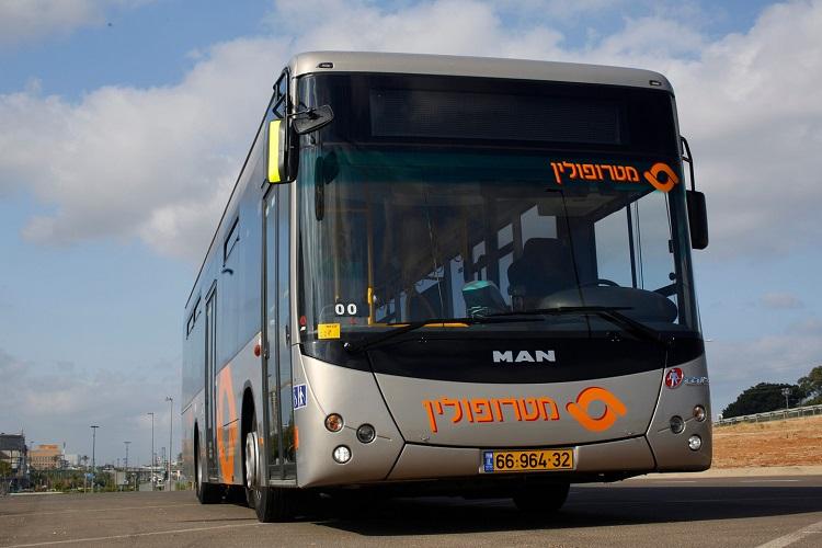אוטובוס של חברת מטרופולין. צילום: תומר פדר