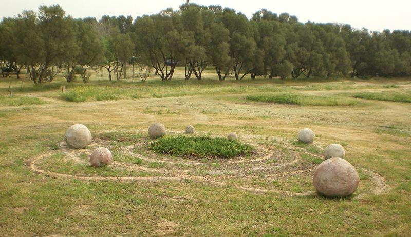 פארק דינה, עבודה של גילה קרוקר