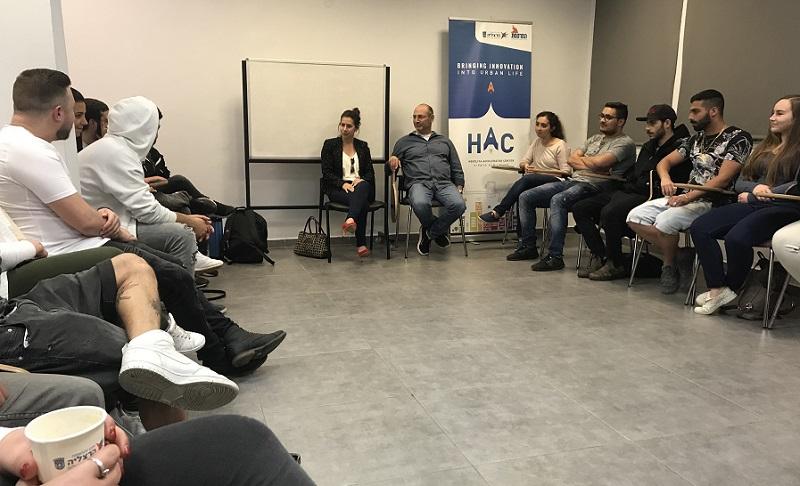 מפגש משתתפי תכנית אפיקים. צילום: עיריית הרצליה