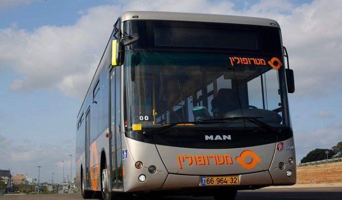 אוטובוס של מטרופולין. צילום: תומר פדר