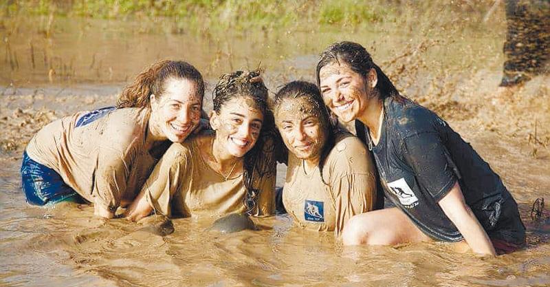 בנות באימון של יובל עילם
