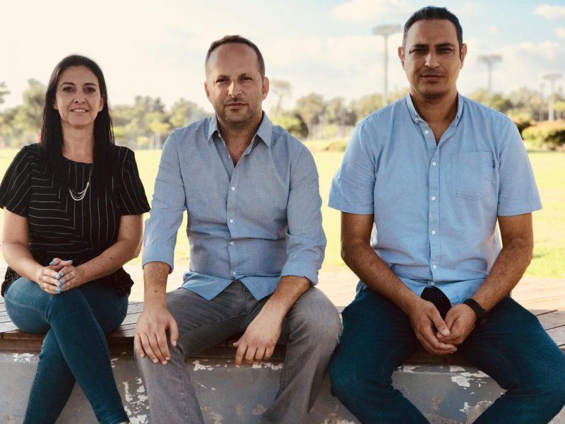 """מימין לשמאל: אמסלם, אוריאלי וקולבק-אהרון. צילום: """"דרך החינוך"""""""