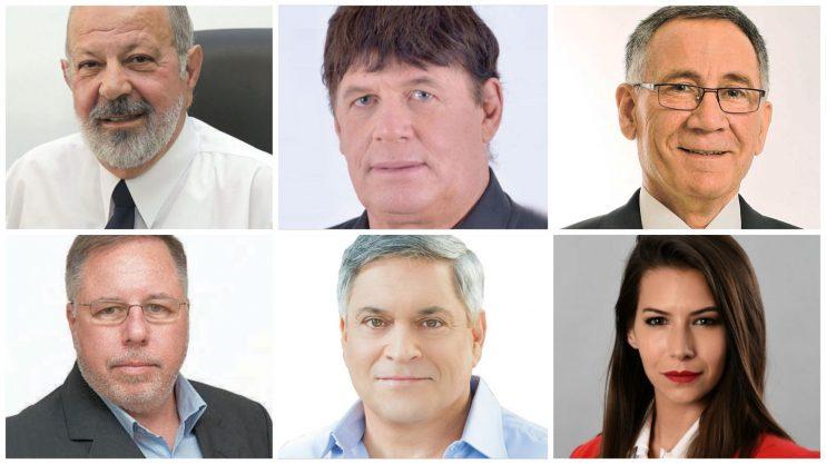 המתמודדים לראשות עיריית הרצליה