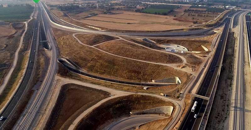 חיבור כביש 531 וכביש 20. צילום נתיבי ישראל