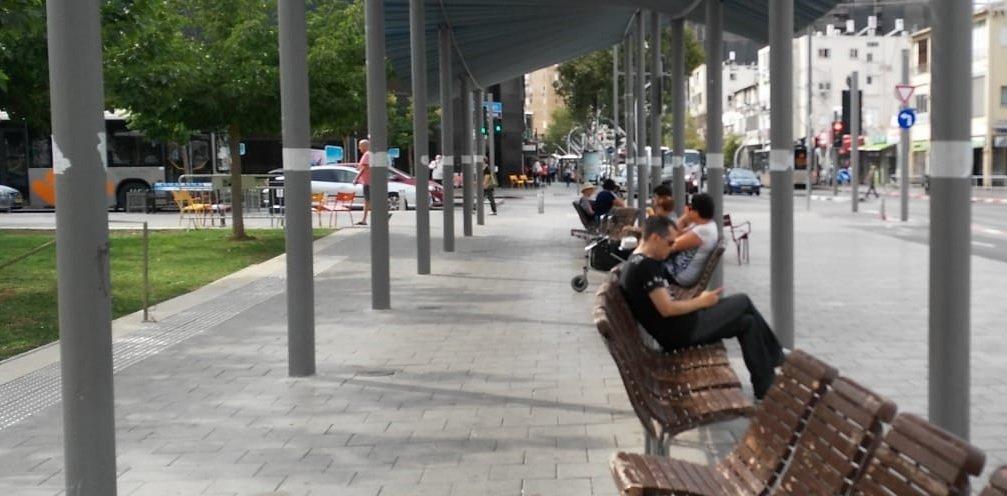 סיבוב ברחוב סוקולוב. צילום מיטל ליאור גוטמן
