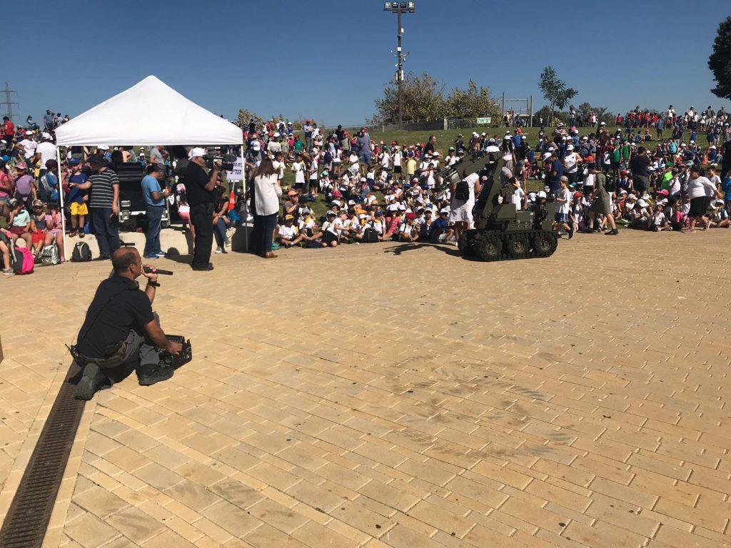 יום קהילה של שוטרי תחנת גלילות. צילום באדיבות המשטרה