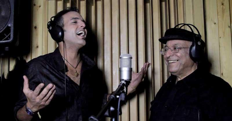 סגיב כהן (משמאל) ודקלון. צילום נהוראי חובב ביטון
