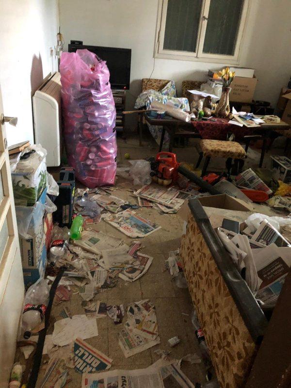 הדירה לפני השיפוץ