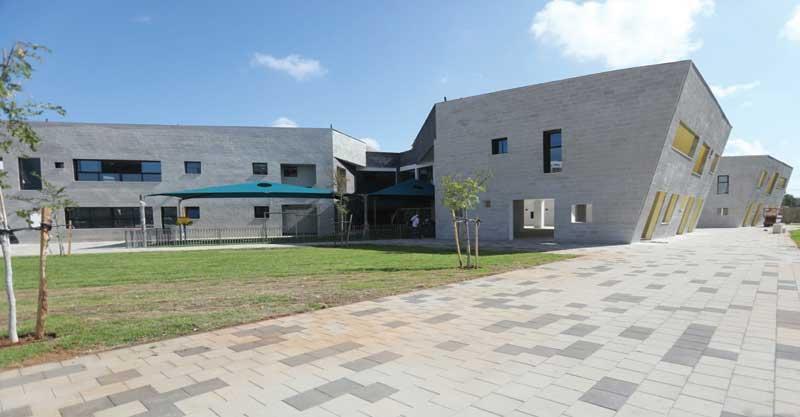 בית ספר יצחק נבון בהרצליה. צילום עיריית הרצליה