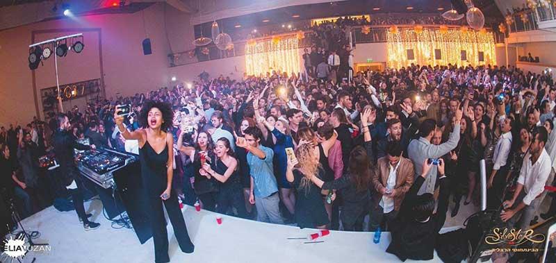 מסיבת סילבסטר של המרכז הבינתחומי בהרצליה. צילום אליאב אוזן