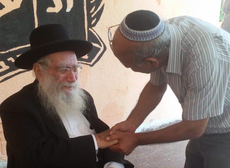 """הרב יעקבוביץ ז""""ל עם ראש המועצה הדתית דן פנחס"""