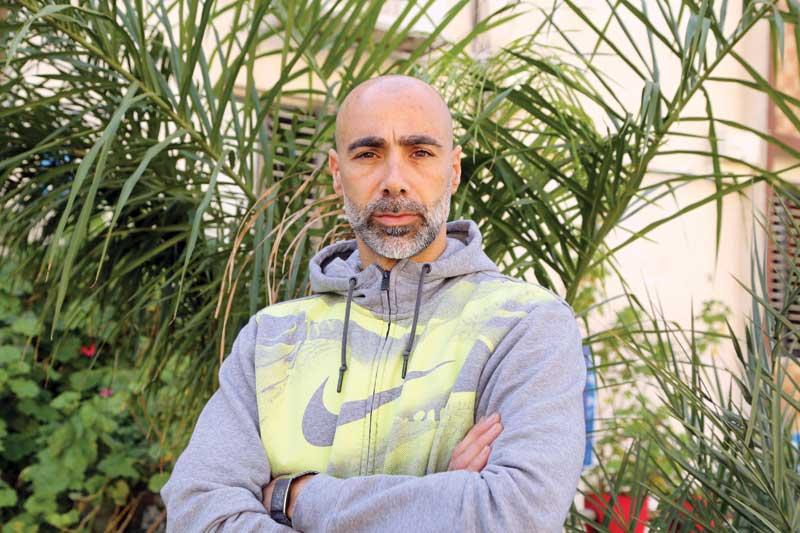 אבי ג'נאח. צילום עזרא לוי