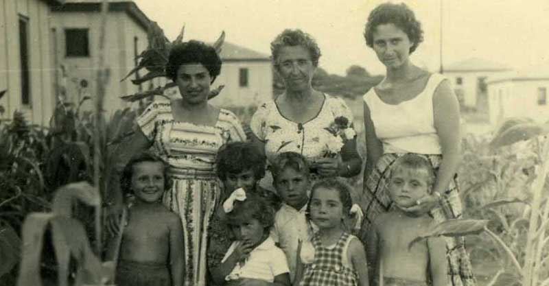 שכונת יד התשעה (שביב). צילום: באדיבות בית ראשונים - המוזיאון והארכיון לתולדות הרצליה