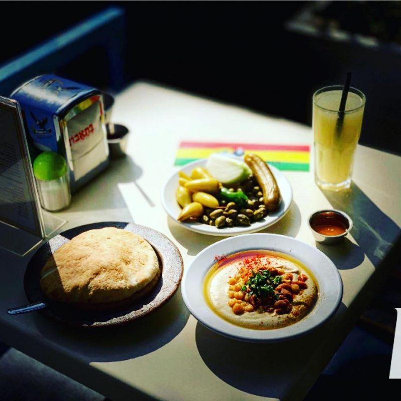 Hummus in Tel-Aviv. Abu Dubi. Photo by :G. Eilam