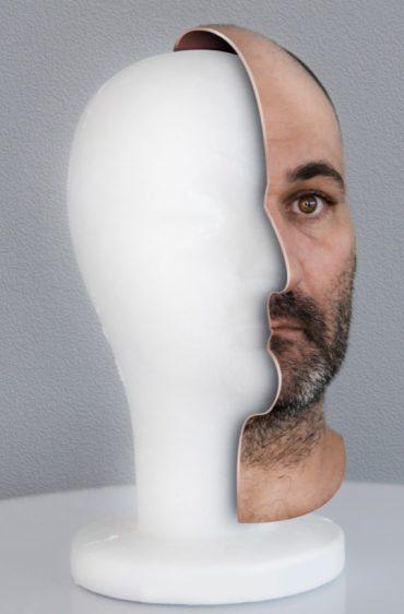 דיוקן עצמי של קובי וקנין, מתוך התערוכה