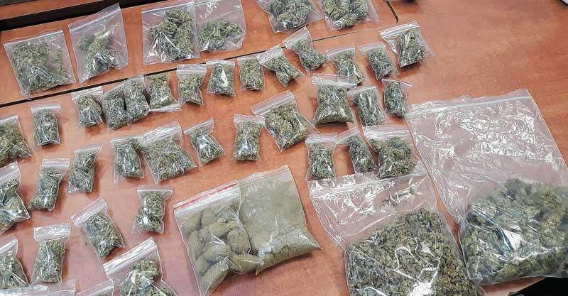 סמים מסוג מריחואנה. צילום אילוסטרציה: דוברות המשטרה
