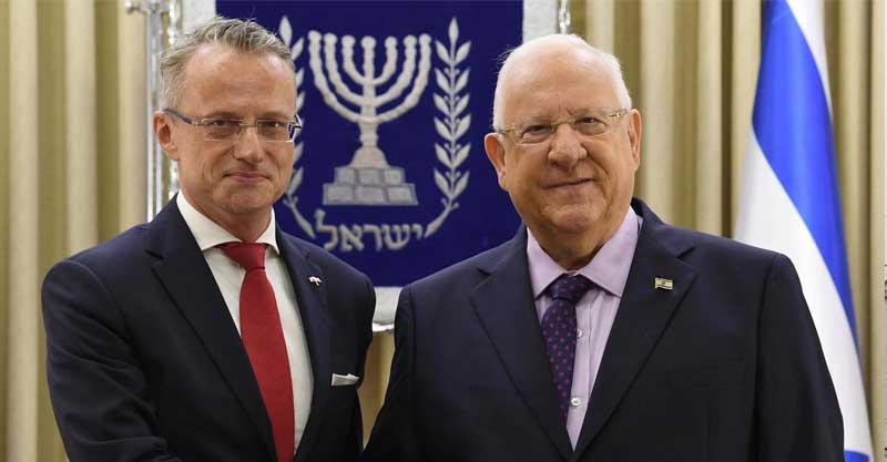 """שגריר פולין בישראל. צילום מארק ניימן / לע""""מ"""