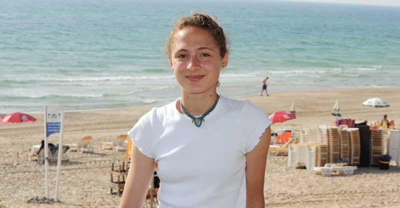 מיה גרומי צופי ים הרצליה צילום עזרא לוי