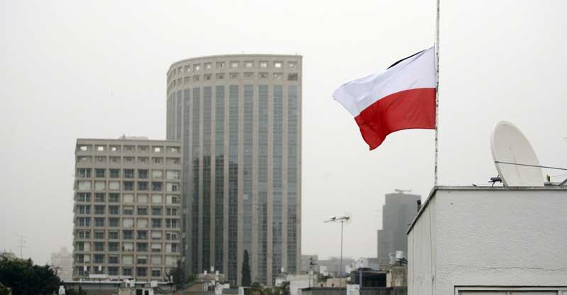 שגרירות פולין צילום אלון רון