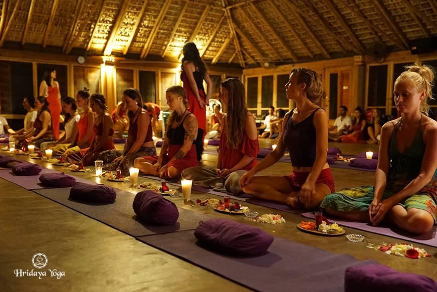 טקס האיחוד המקודש 2017 - קרדיט צילום: Hridaya Yoga