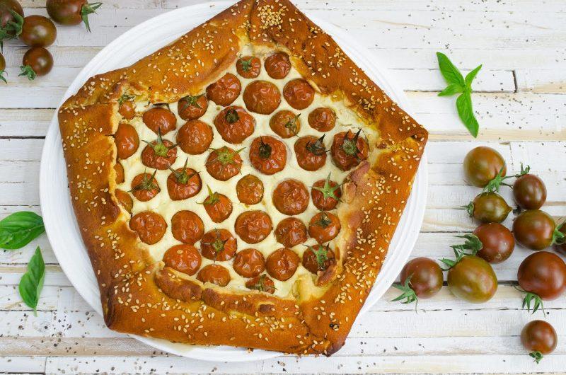 סדנאות בישול טבעוני: גאלט עגבניות ופטה שקדים מתוך סדנת המאפים. קרדיט: Plenty