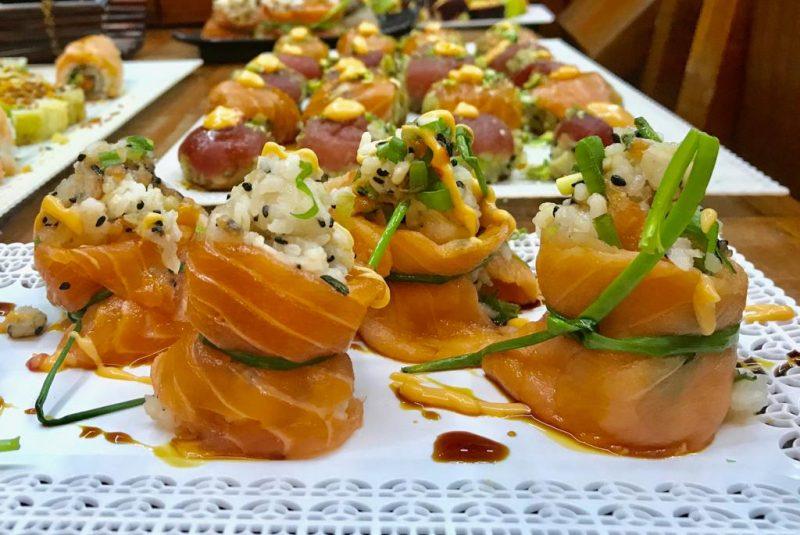 שף קונדיטור ענת סופר שף - מדריכת סדנאות סושי. צילום: יגיל סופר