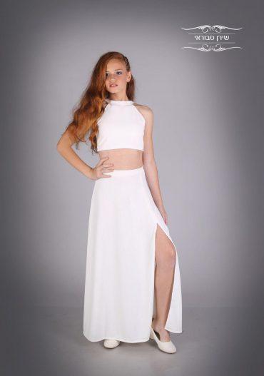 שמלת בת מצווה בעיצוב אישי. באדיבות שירן סבוראי