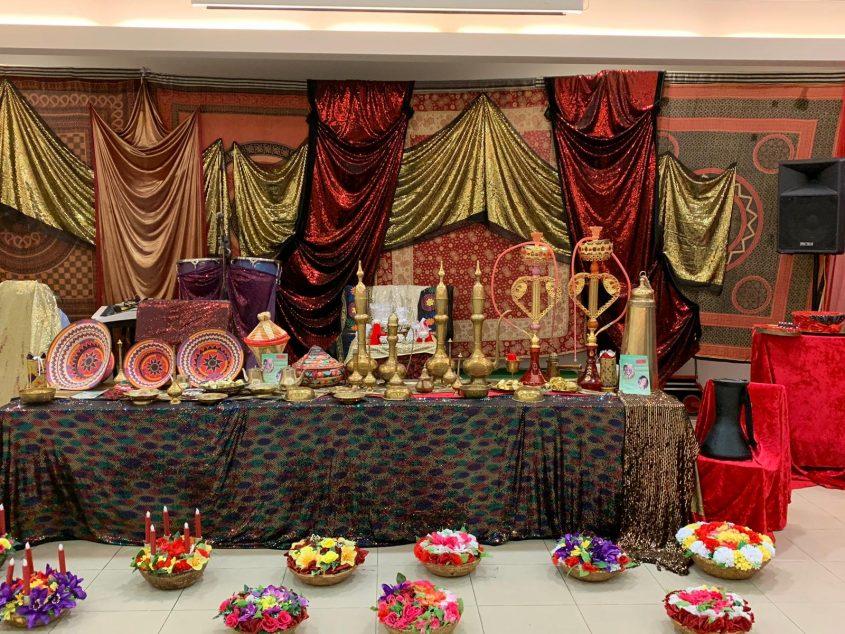 מלכה חג'בי: הפקת אירועי חינה