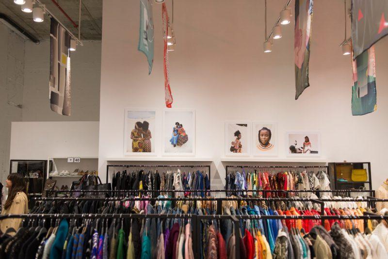 חנות בגדי יד שניה: צ'לסי. צילום: עידן סימון