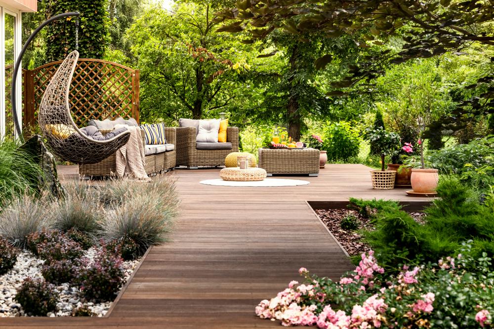 עיצוב גינות ותכנון נוף (Shutterstock) צילום: Photographee.eu