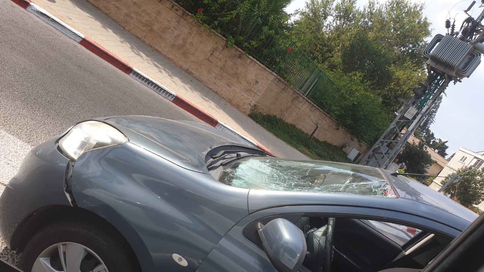 זירת התאונה בבריגדה היהודית