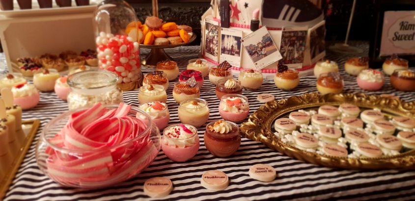 שולחן מתוק לכל אירוע. צילום עצמי